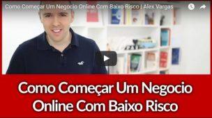 Como Começar Um Negocio Online Com Baixo Risco