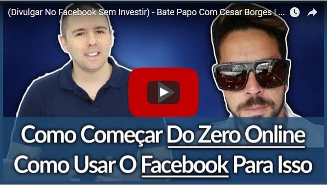 divulgar no facebook sem investir