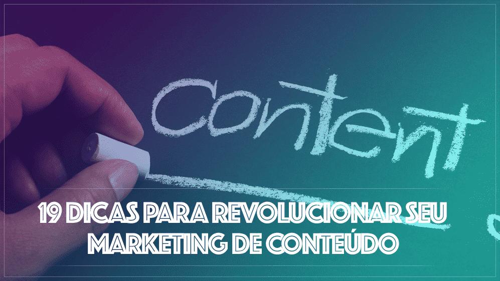 Revolução do Marketing de Conteúdo