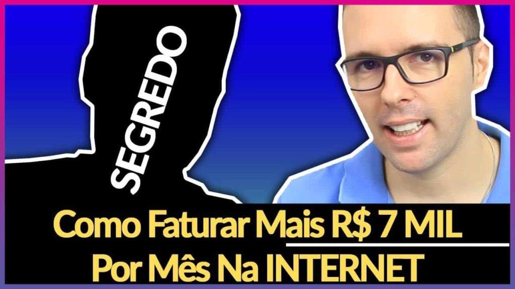 COMO FATURAR R$ SETE MIL POR MÊS NA INTERNET Conversa com Leonardo David