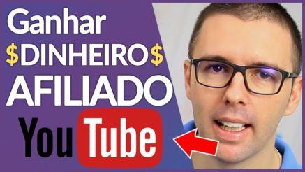 GANHAR DINHEIRO SENDO AFILIADO COM YOUTUBE | DINHEIRO NO YOUTUBE + Aula em Vídeo Completa