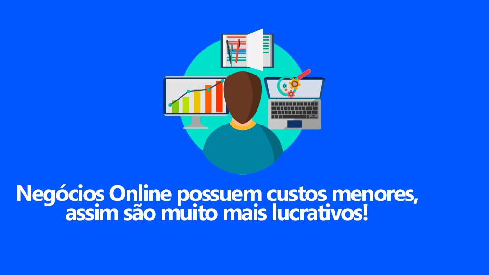 lucro em negócios online