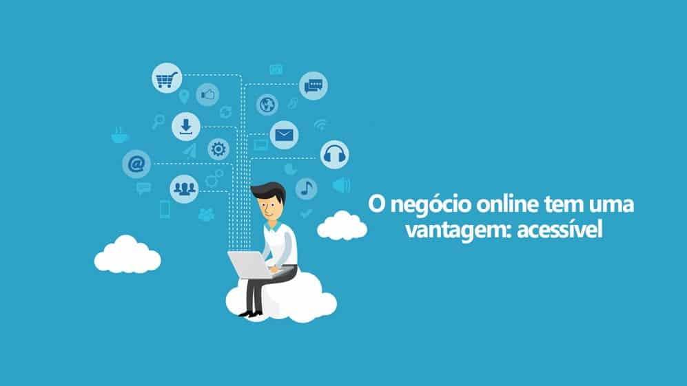 as vantagens ao montar seu próprio negócio online