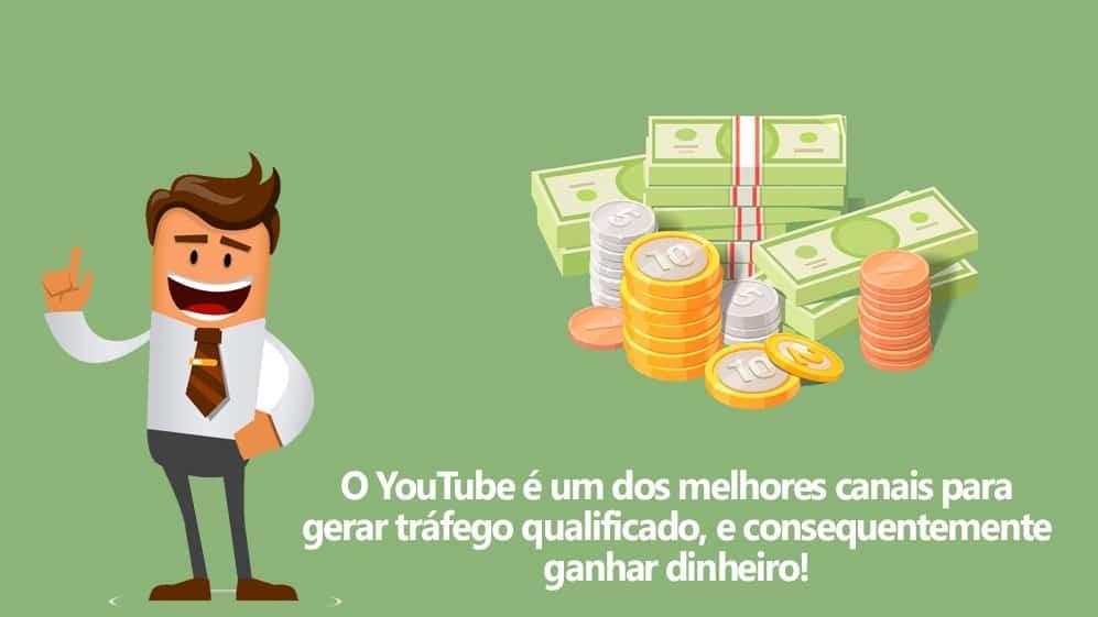 aprenda ganhar dinheiro com YouTube