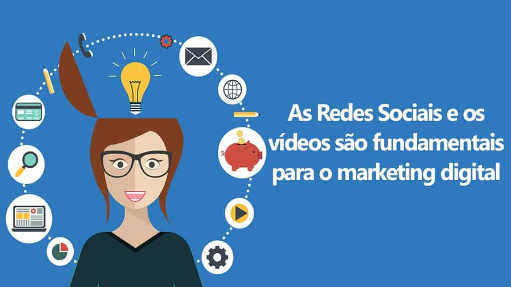marketing digital nas redes sociais