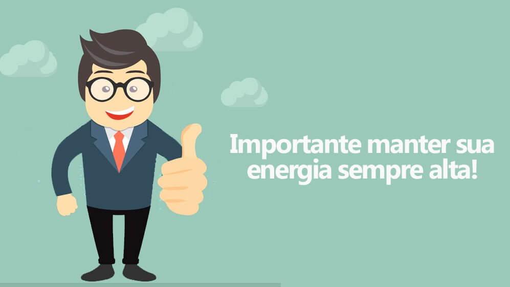 iniciar um negócio na internet com energia alta