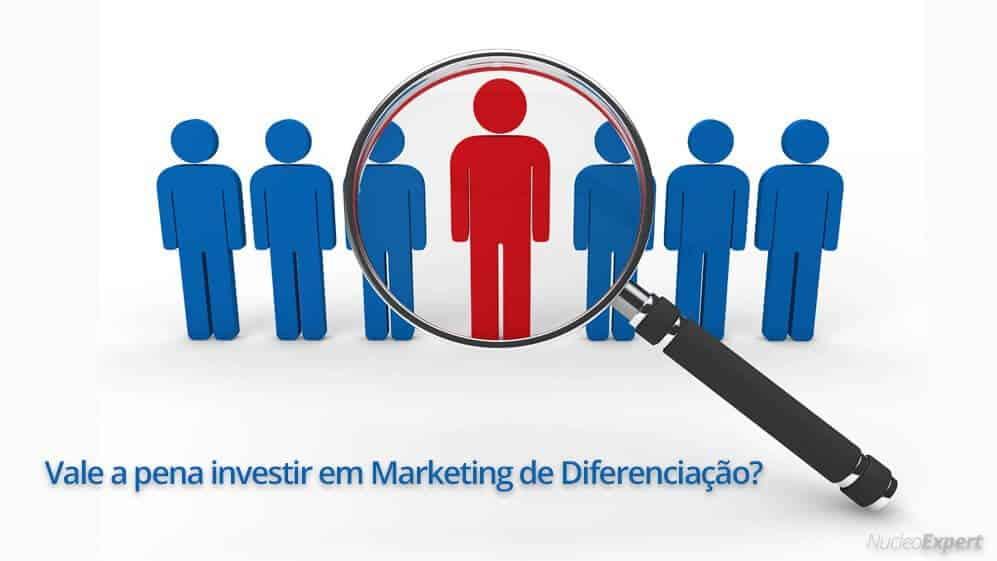 investimentos no marketing de diferenciação