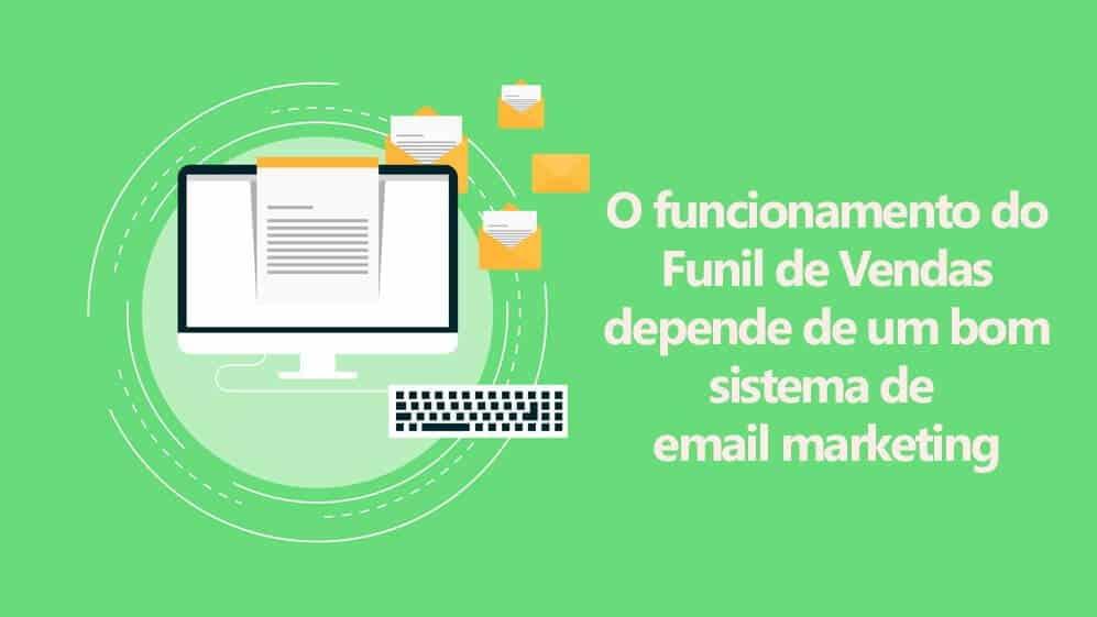 usando o email marketing no funil de vendas