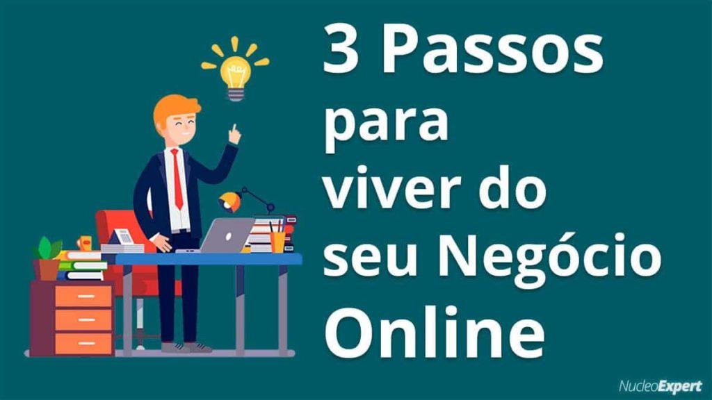 ❤️️3 Passos para Viver Do Seu Negócio Na Internet [💎 Ganhar Dinheiro E Trabalhar Em Casa]
