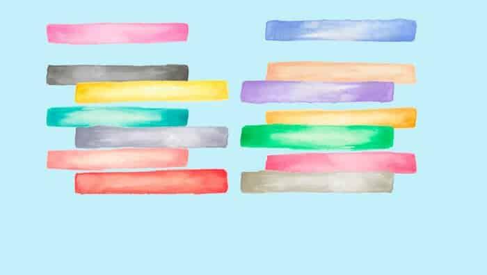 significado das cores na psicologia das cores