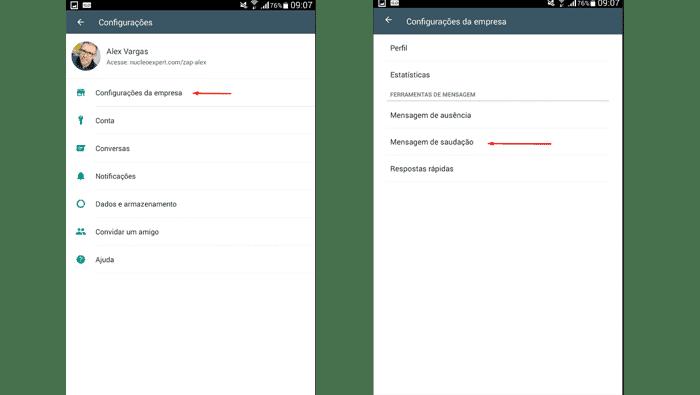 Como Cadastrar Mensagens Automáticas no WhatsApp Business