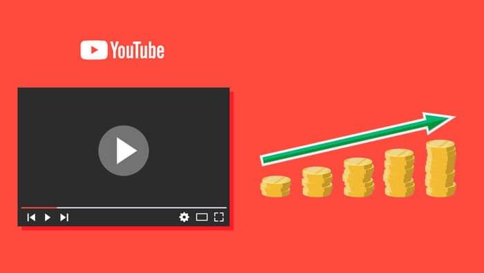 Youtube quanto mais visualizações, mais dinheiro