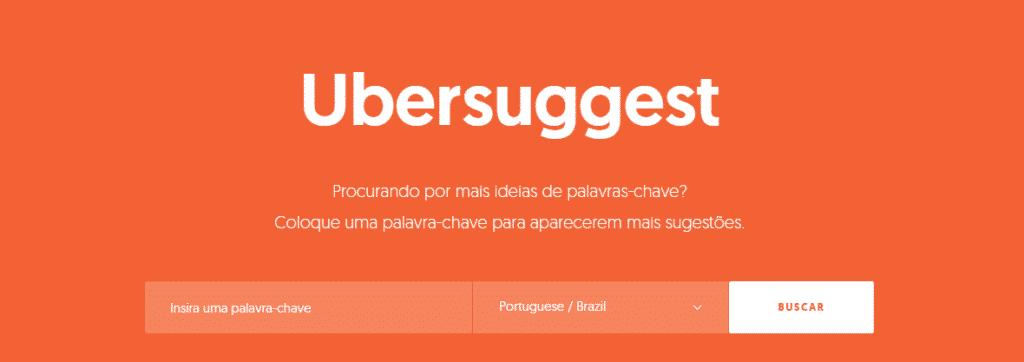 como usar o UberSuggest