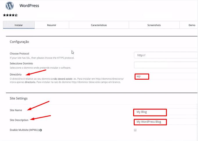 Como criar um site com WordPress
