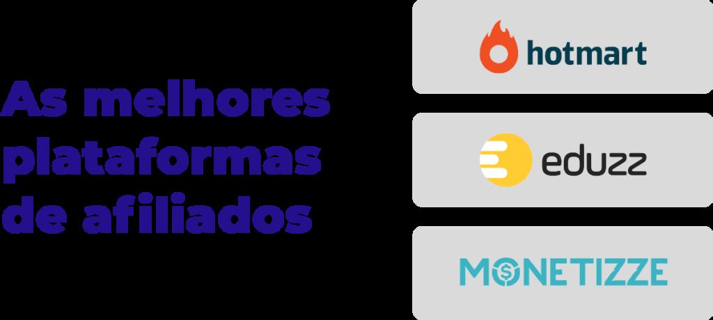 Conheça as Melhores Plataformas de Afiliados: Hotmart, Eduzz e Monetizze