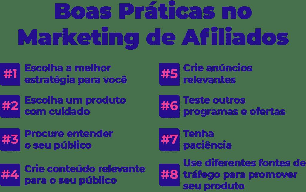 Confira boas práticas no Marketing de Afiliados.