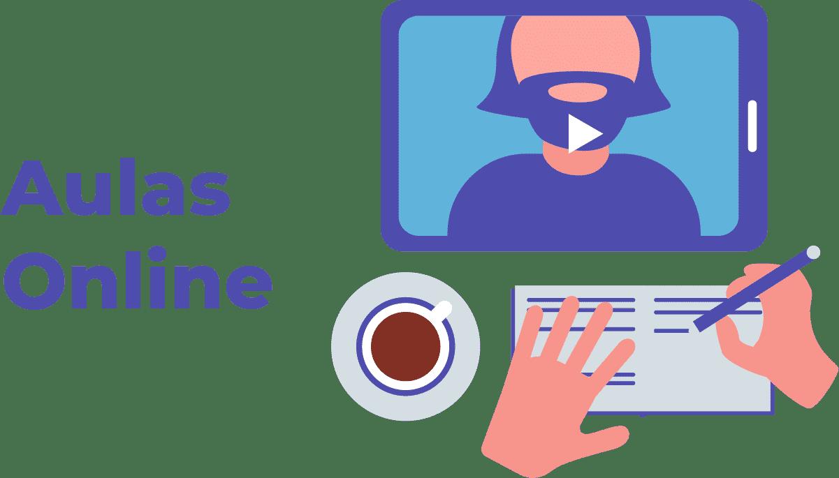 Trabalhar pela internet dando aulas online