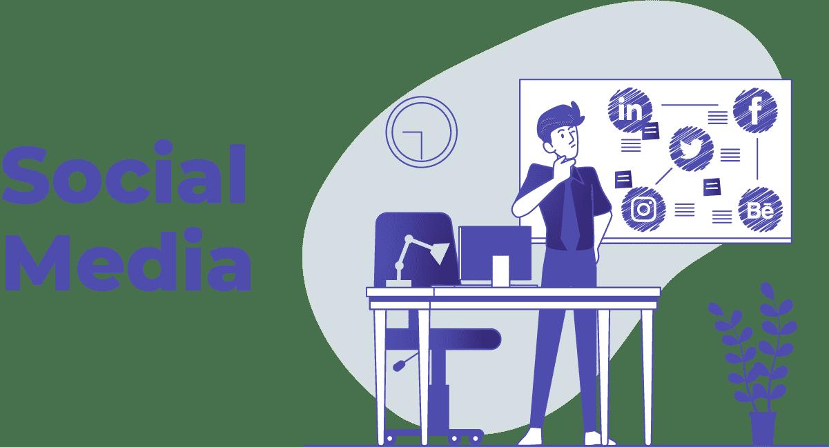 Trabalhar pela Internet como Social Media