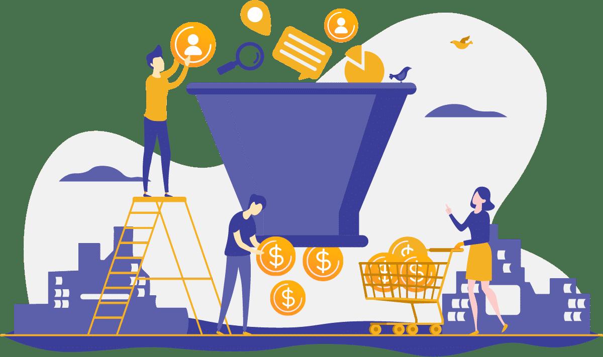 Relação da jornada do cliente com o funil de vendas