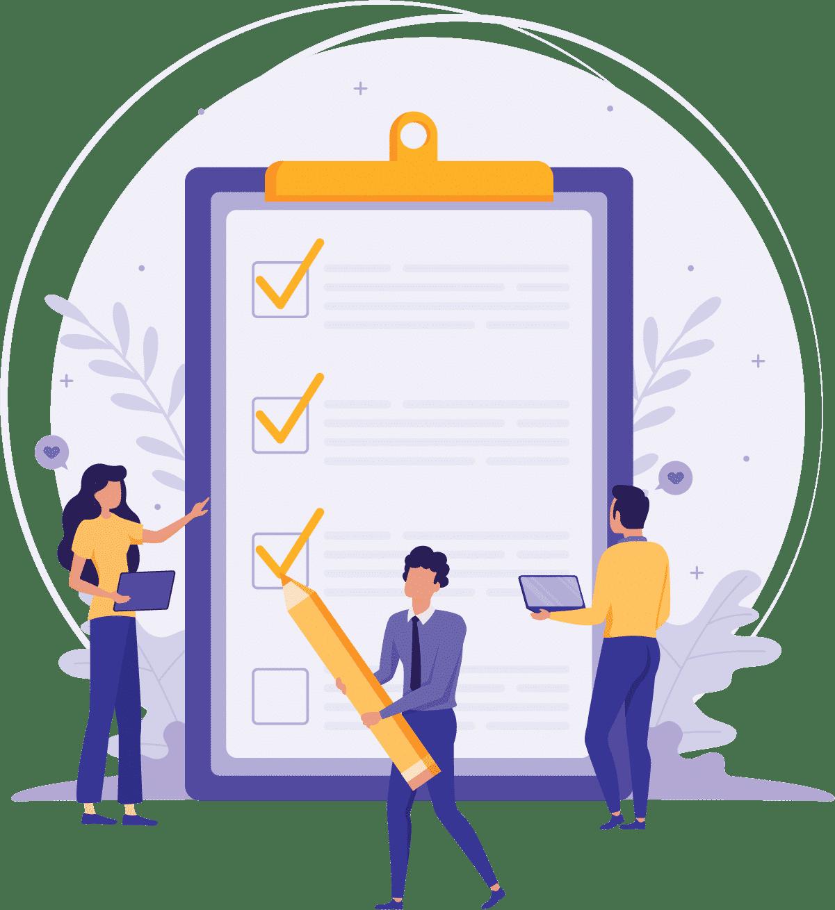 Checklist para começar uma introdução
