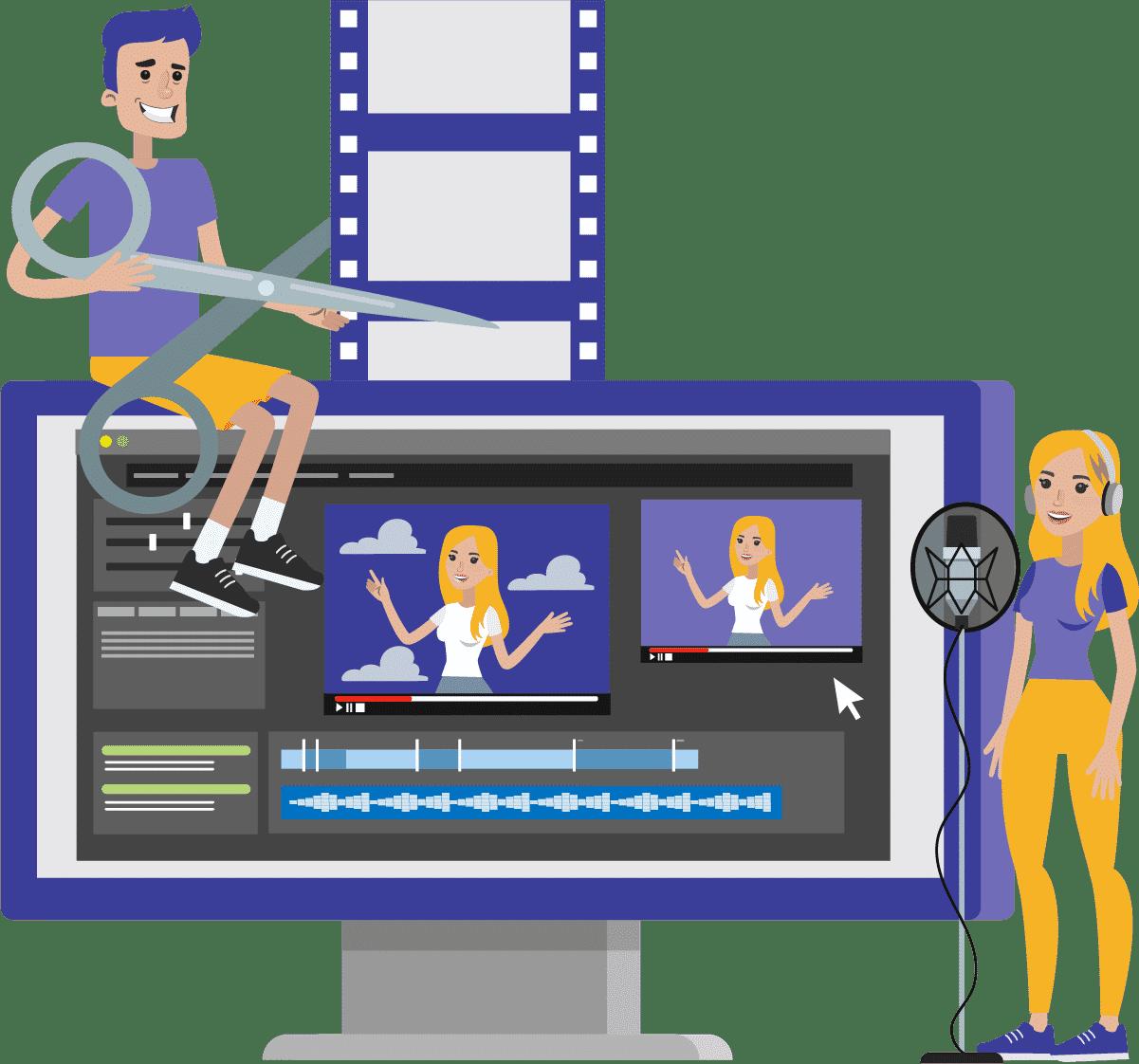 Faça uma edição simples e que dê ritmo no seu vídeo.