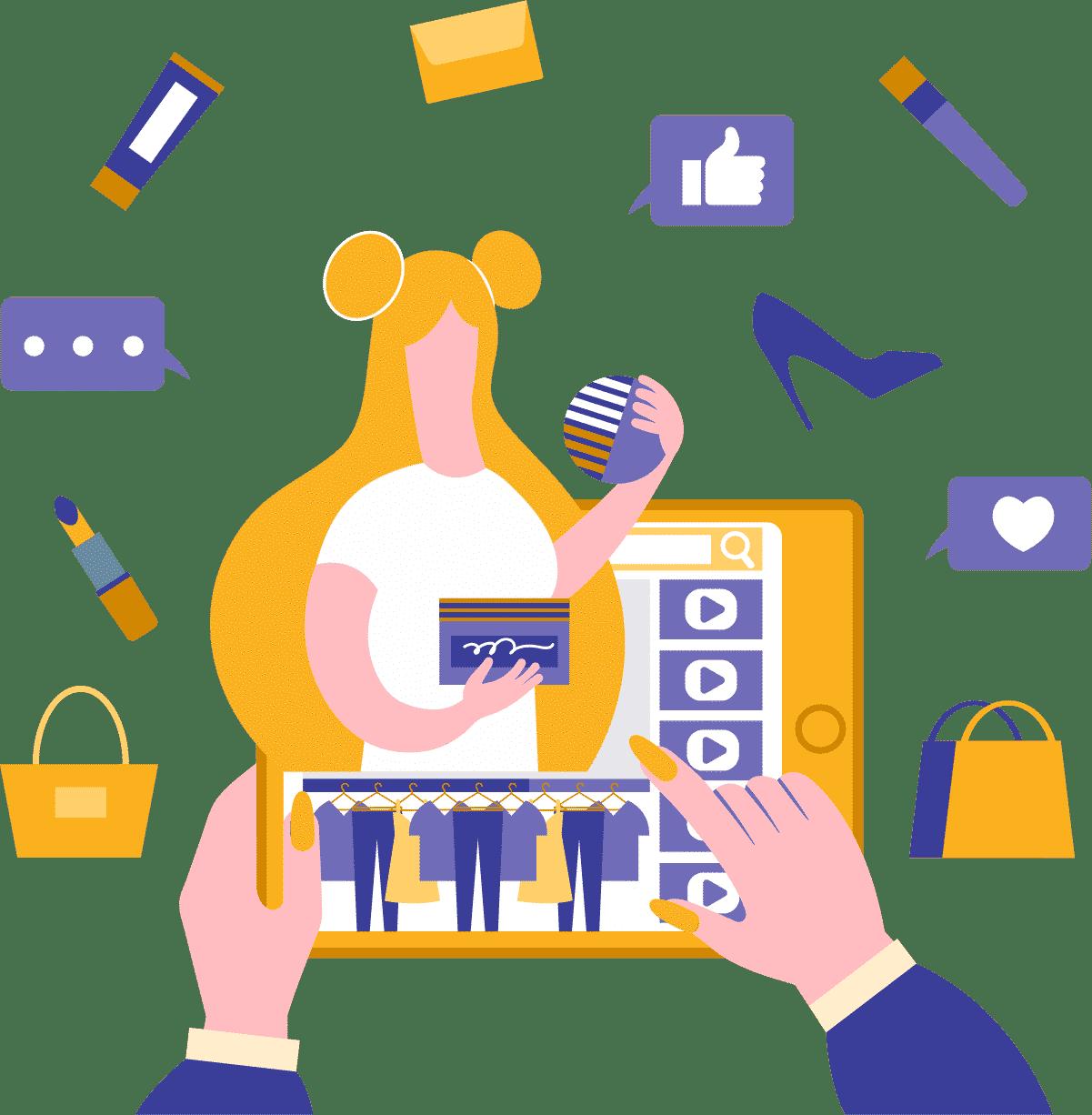 Publique um conteúdo com lista de produtos