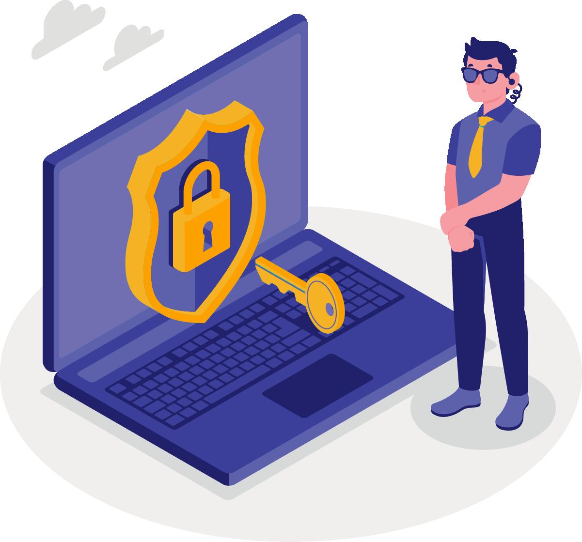Penalidades que podem ocorrer para quem não cumprir as regras da lei de proteção de dados.