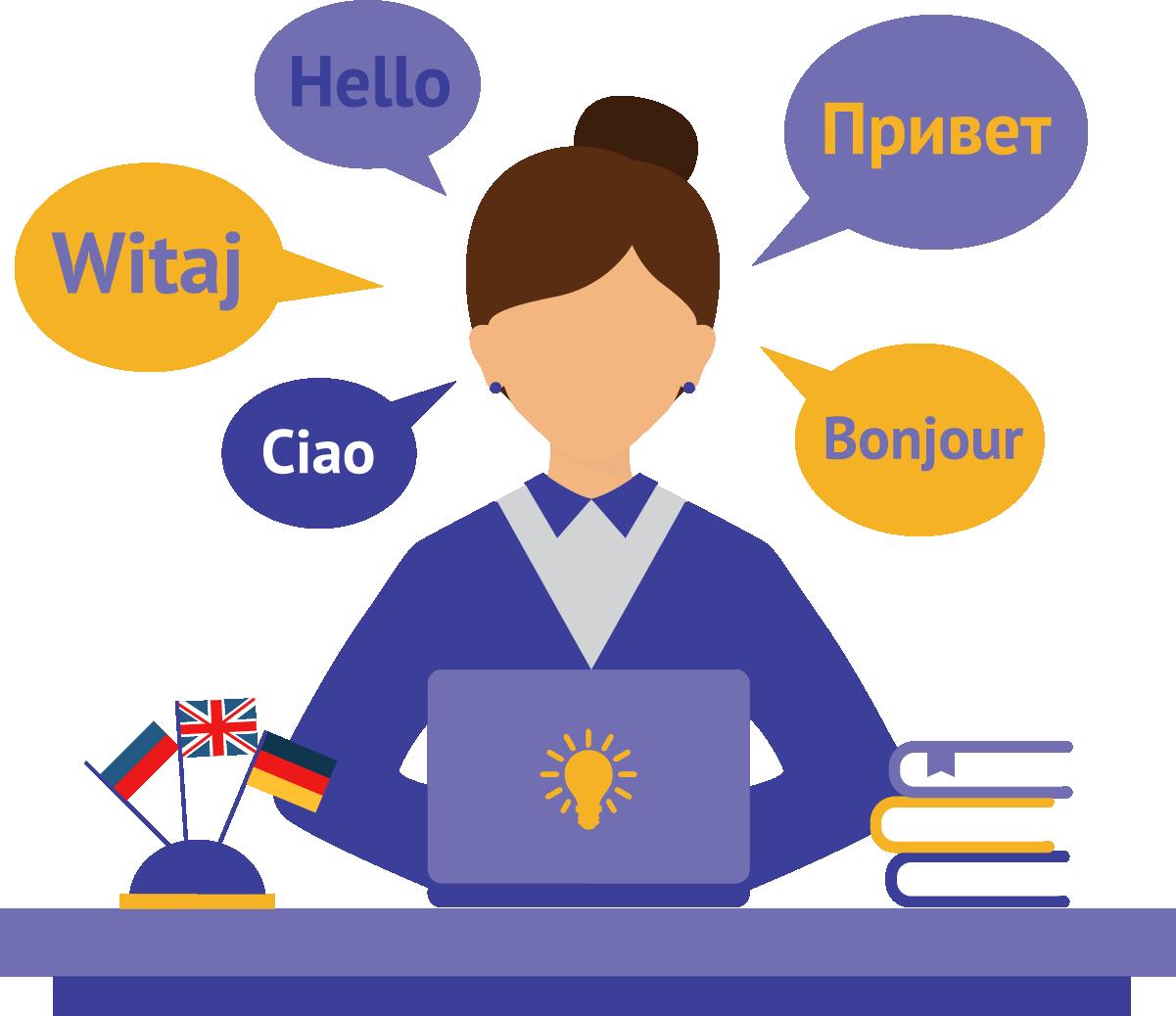 Trabalhe como tradutor em casa