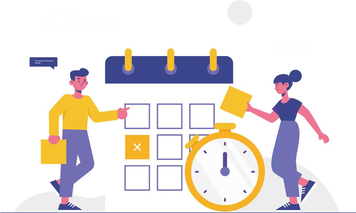Faça uma boa gestão do tempo trabalhando em casa