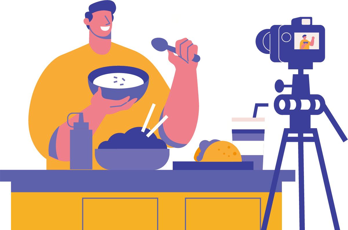 A importância e os benefícios e investir em vídeos caseiros.