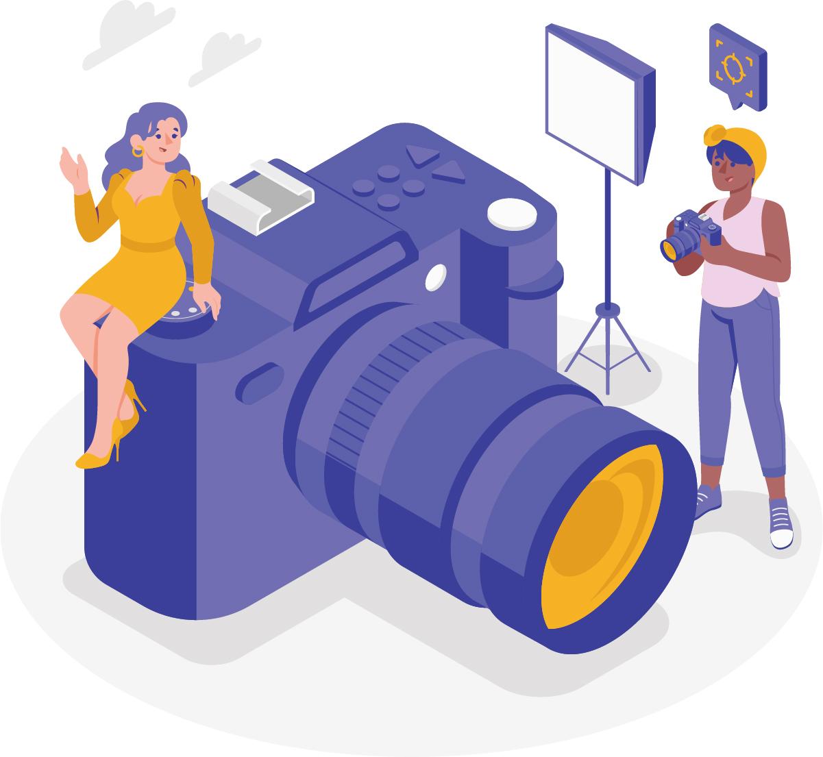 Use uma câmera do seu smartphone
