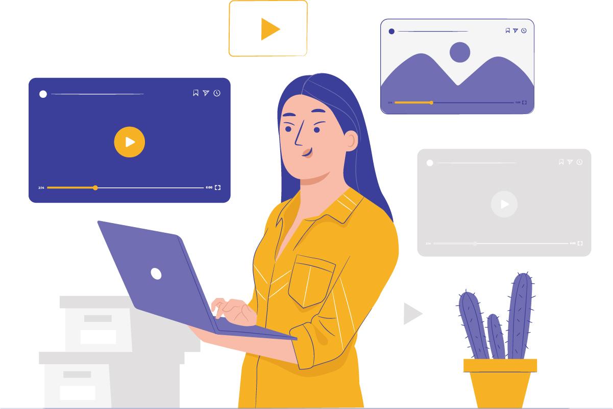 Aprenda como editar vídeos caseiros.