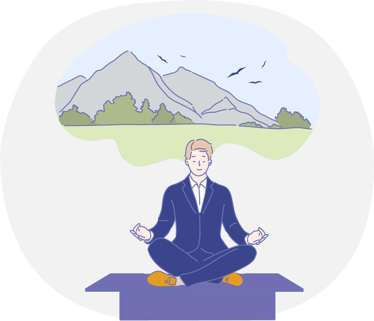 Faça exercícios para aliviar a sua mente