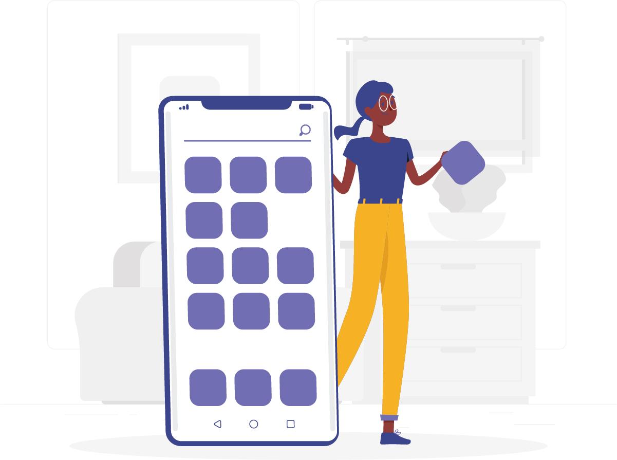 Limite o uso de aplicativos no home office