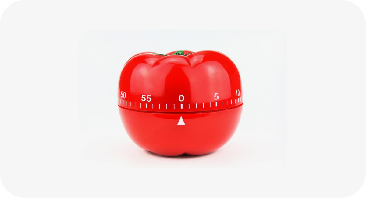 Use a técnica pomodoro