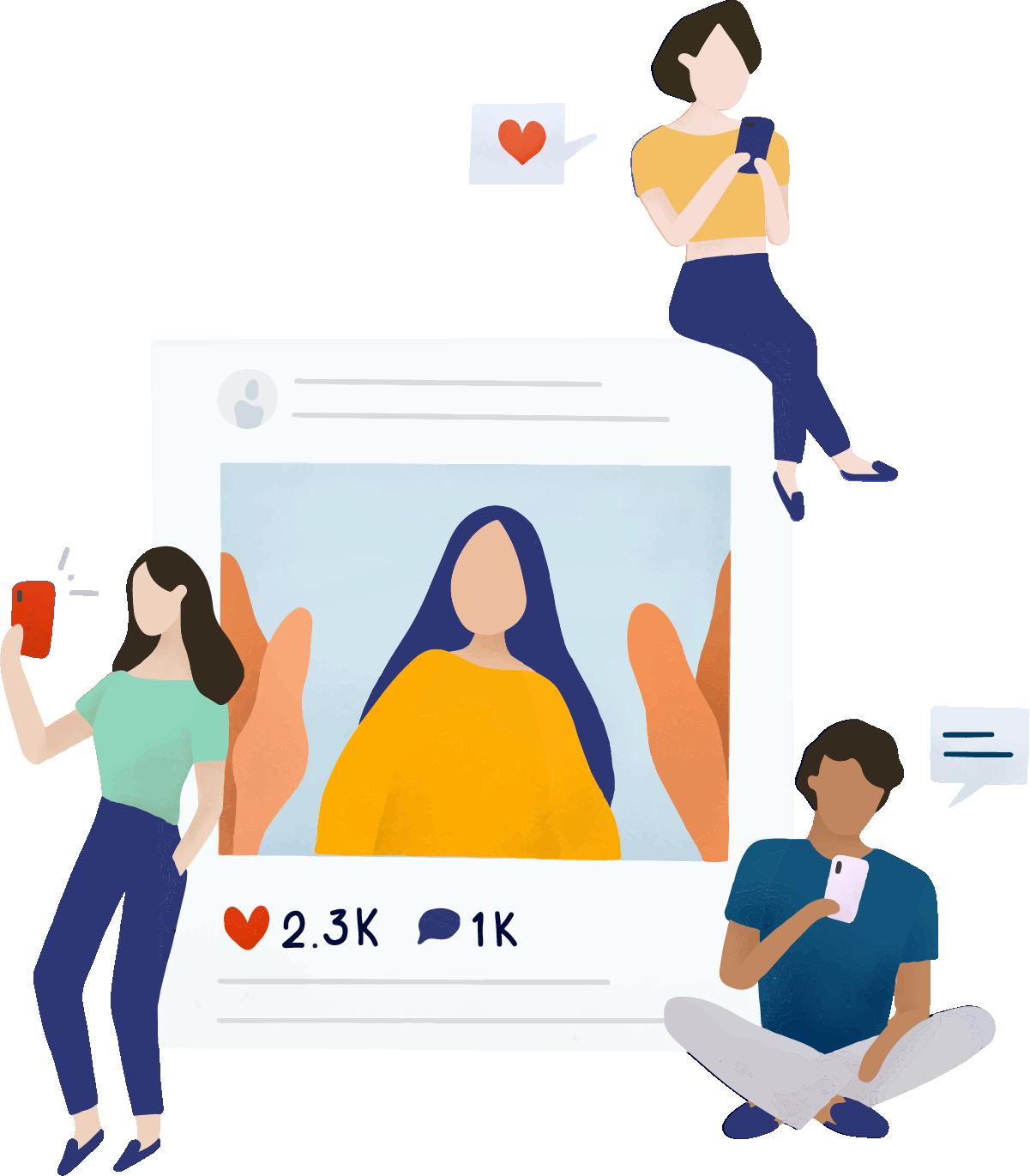 Tenha uma conta ativa para atrair e conseguir mais parcerias no instagram
