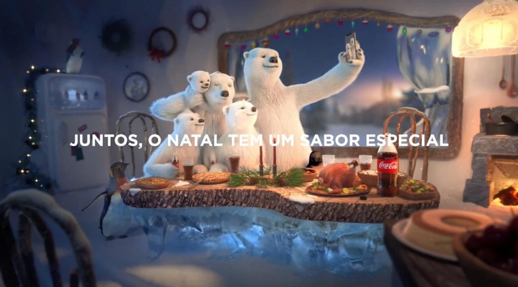 Publicidade bem feita com a campanha de natal da coca-cola
