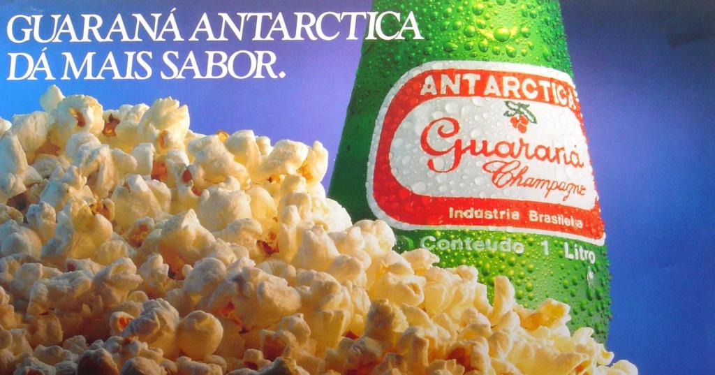 Guaraná Antartica em sua campanha de publicidade